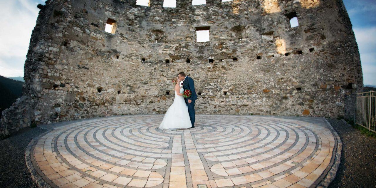 Geschützt: Hochzeit Kerstin & Alex, Stiftskirche Ossiach, Burgruine Griffen